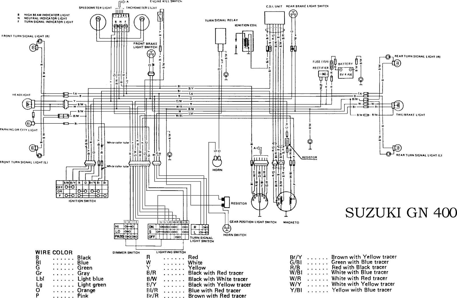 Suzuki+GN400+motorcycle+Complete+Electrical+Wiring+Diagram?resize\=665%2C435 suzuki gn 125 wiring diagram suzuki 125 three wheeler \u2022 wiring 2003 suzuki katana 600 wiring diagram at virtualis.co