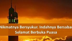 Kumpulan Ucapan Selamat Berbuka Puasa Ramadhan Terbaru 2019