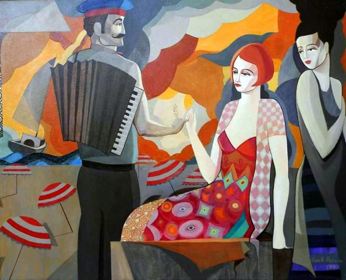 Болгарский художник. Ivo Petrov