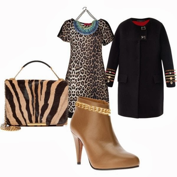 Outfit animal print