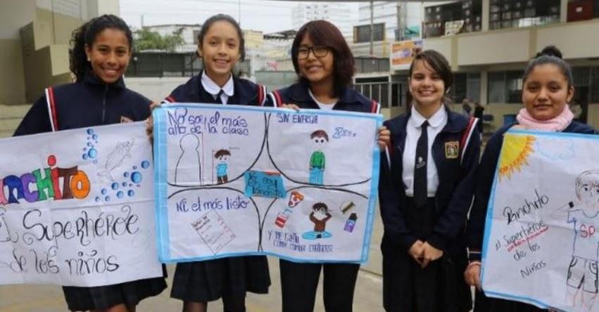 PescActívate: Escolares promoverán estilos de vida saludable, a iniciativa del Programa Nacional «A Comer Pescado» del Ministerio de la Producción