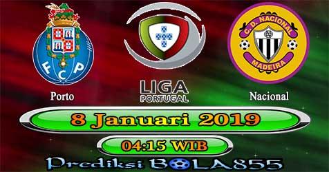 Prediksi Bola855 FC Porto vs Nacional 8 Januari 2019