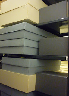 archival boxes, museum collection storage, art conservation of textiles