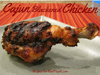 Cajun Blackened Chicken on the Grill Recipe from RecipesForRealPeople.com