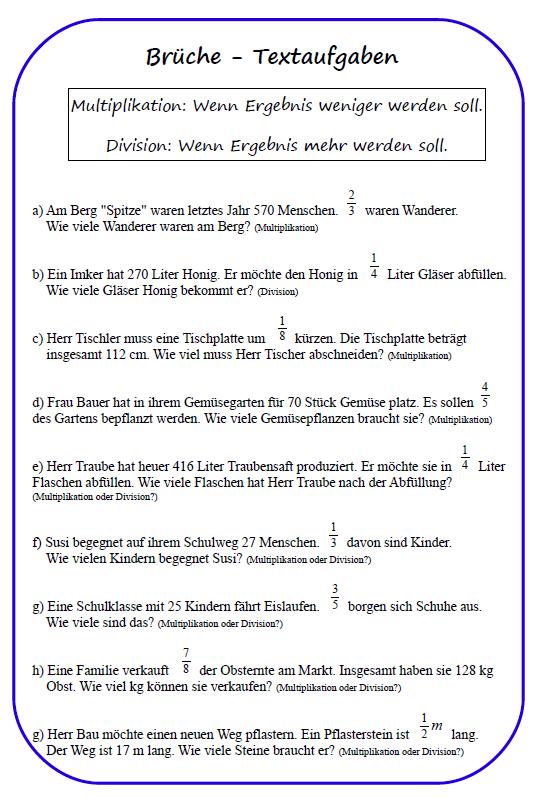 Frisches 31 Brüche In Dezimalzahlen Umwandeln Arbeitsblatt ...