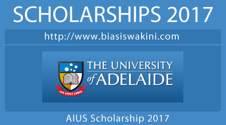 Adelaide International Undergraduate Scholarships 2017