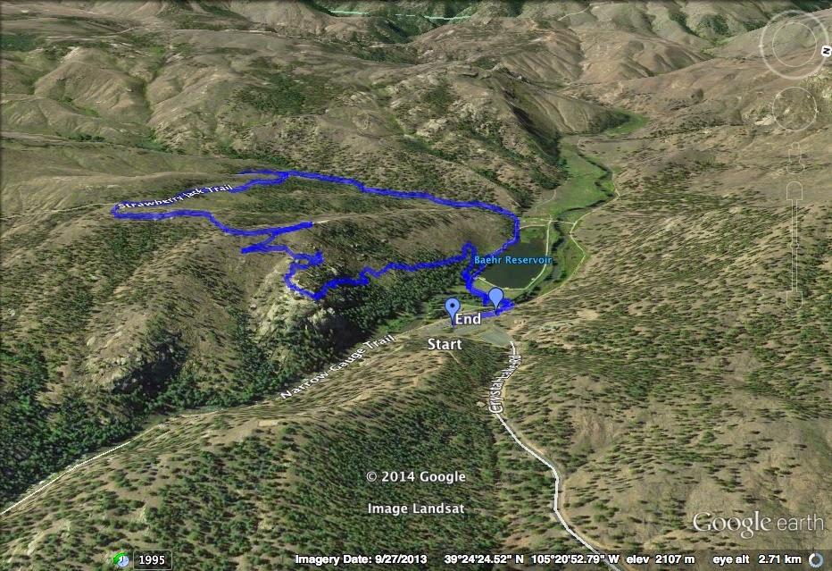 Go Hike Colorado: Park View Loop, Pine Valley Ranch Park