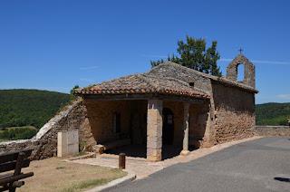 Puycelsi. La capella de Saint Roch