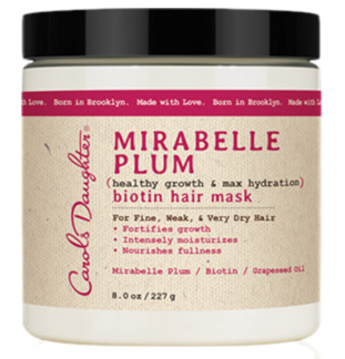 Carol's Daughter Mirabelle Plum Biotin Hair Mask
