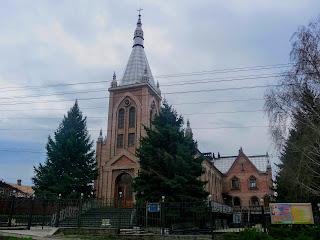 Бахмут. Церква євангельських християн-баптистів. Колишній костел