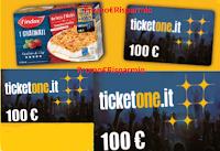 Logo Findus ''Godetevi l'Attesa'': vinci 400 buoni TicketOne da 100€