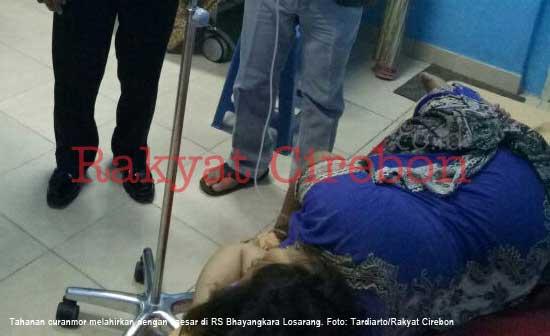 tahanan perempuan kasus curanmor dicaesardi rs bhayangkara