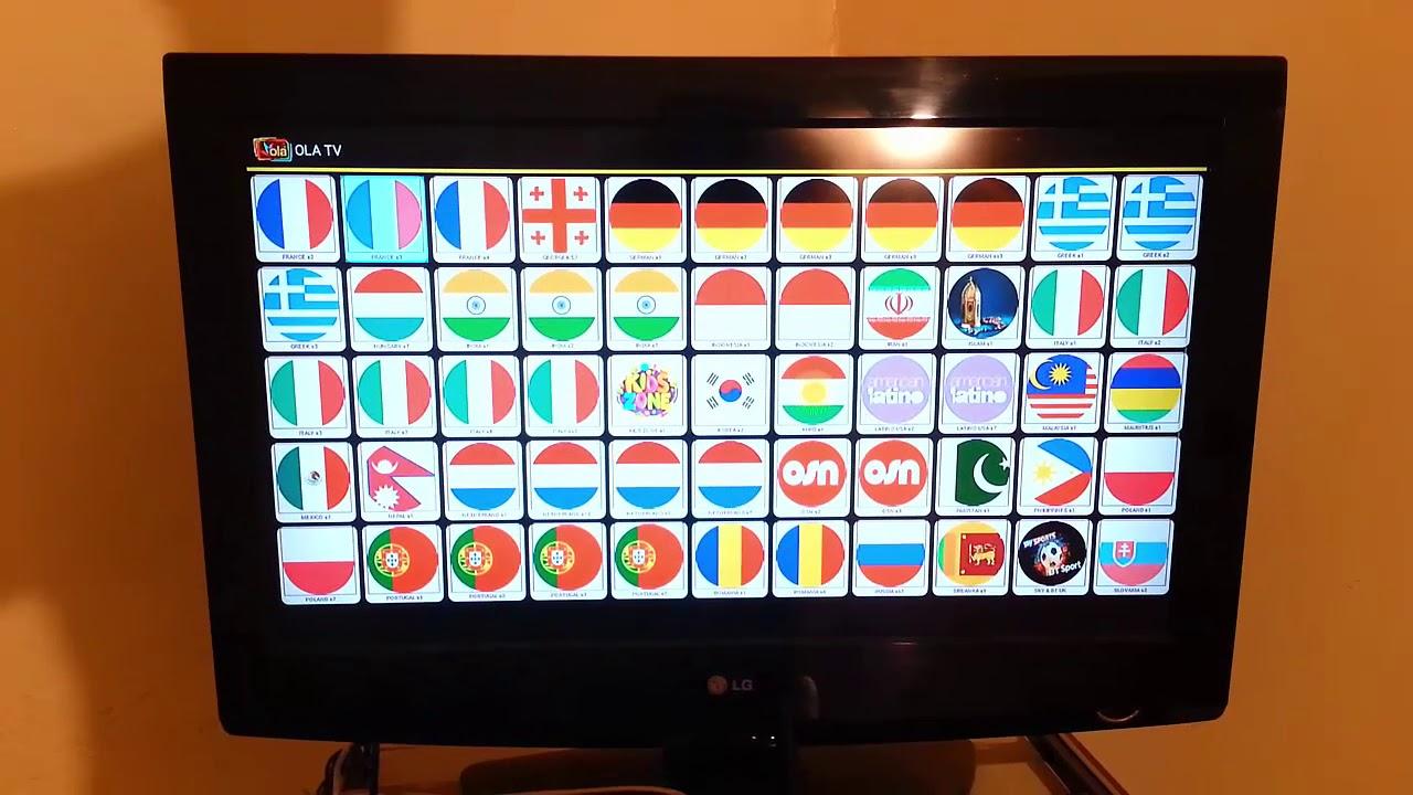 تحميل OLA TV افضل تطبيق لمشاهدة القنوات والباقات العالمية