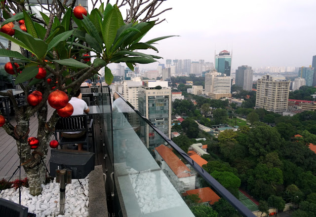 Panoramic city view - Shri Restaurant & Lounge in Ho Chi Minh City, Vietnam