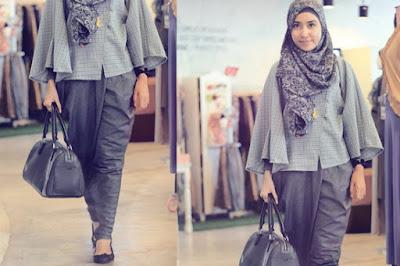 Model Baju Muslim Kantoran