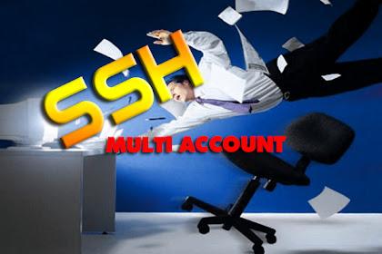 How to Multi Login Ssh account using Proxyfire