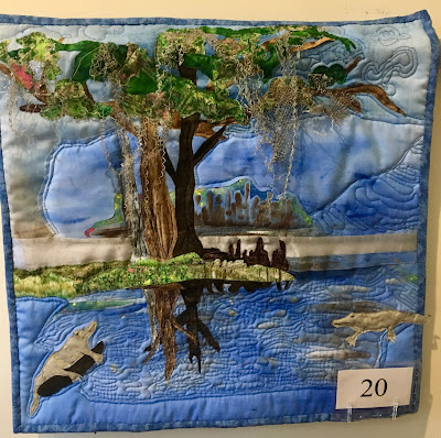 national parks exhibit, swamp, wendy blanton, bulloch hall quilt guild, the great american cover-up, quilt show