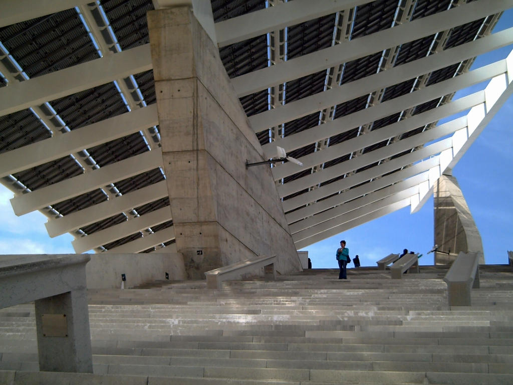 Barcelona Forum: Under the Solar Panel