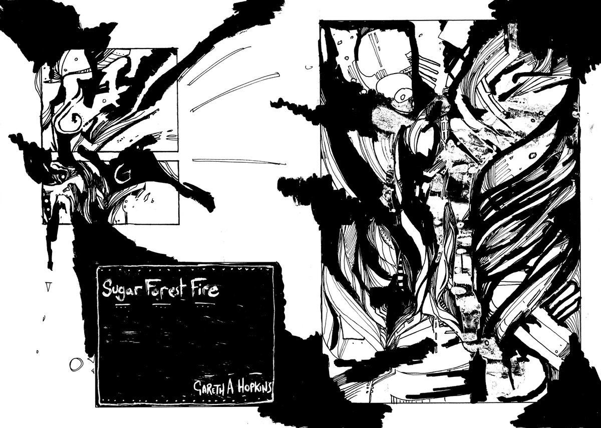 Abstract Comics The Blog Sugar Forest Fire Free Download