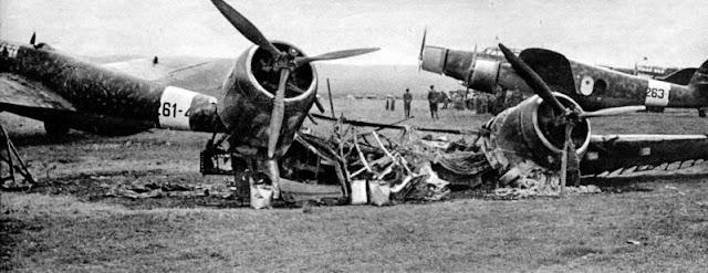 30 January 1941 worldwartwo.filminspector.com Derna airfield Bristol Blenheim Mk. 1