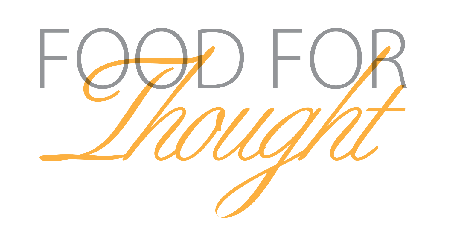 food for thought Food for thought, cardigan, ceredigion, united kingdom 15k likes food for thought has a frequently expanding menu to suit many dietary requirements.