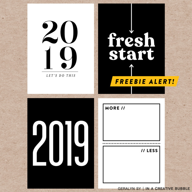 2019 Freebie