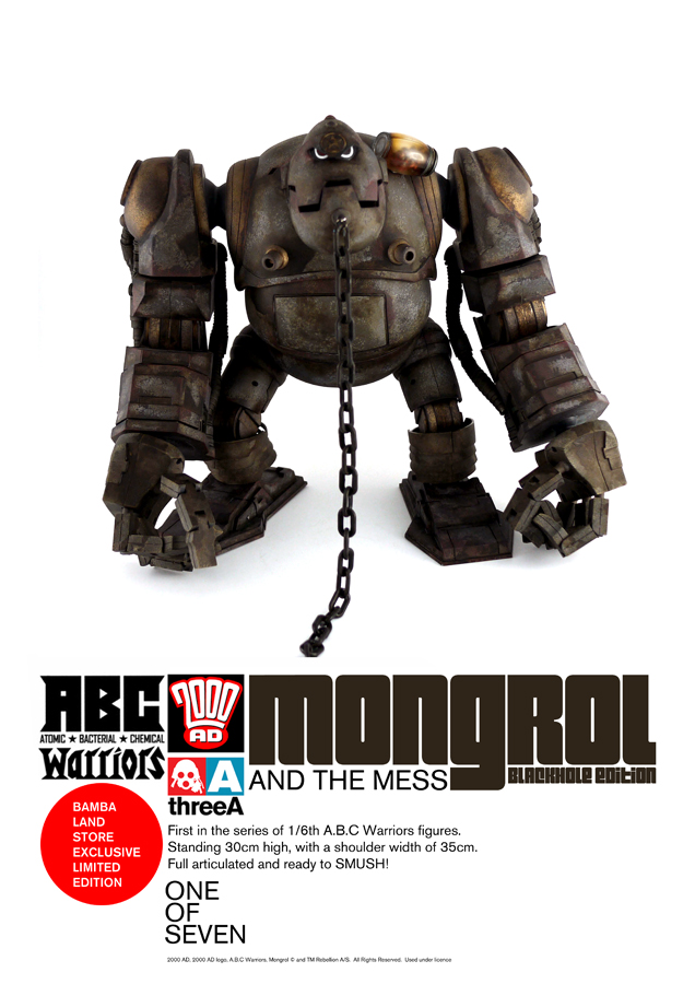 WO3A/ 2000AD/ ABC Warriors/ Mongrol