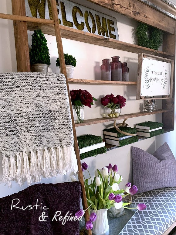 Spring Decor For The Entryway