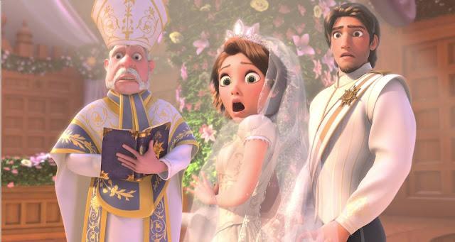 Roszpunka Ślub u Disneya