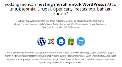 Hostinger.co.id layanan web hosting Indonesia