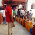 Abuja residents queue up to buy cooking gas
