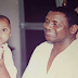 Never seen before photo of Sani Abacha as a doting grandfather