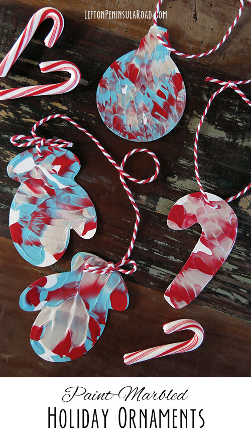 Or Punch Holes And Hang With Bakers Twine For Cute Colorful Christmas Ornaments