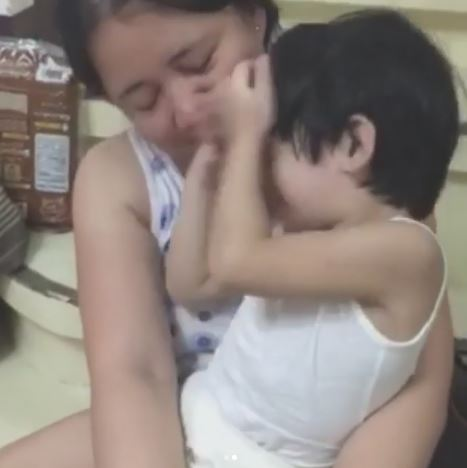 Cute 3-year-old Boy Can't Stop Talking About Angel Locsin After Seeing Her Lifesized Standee In Mang Inasal