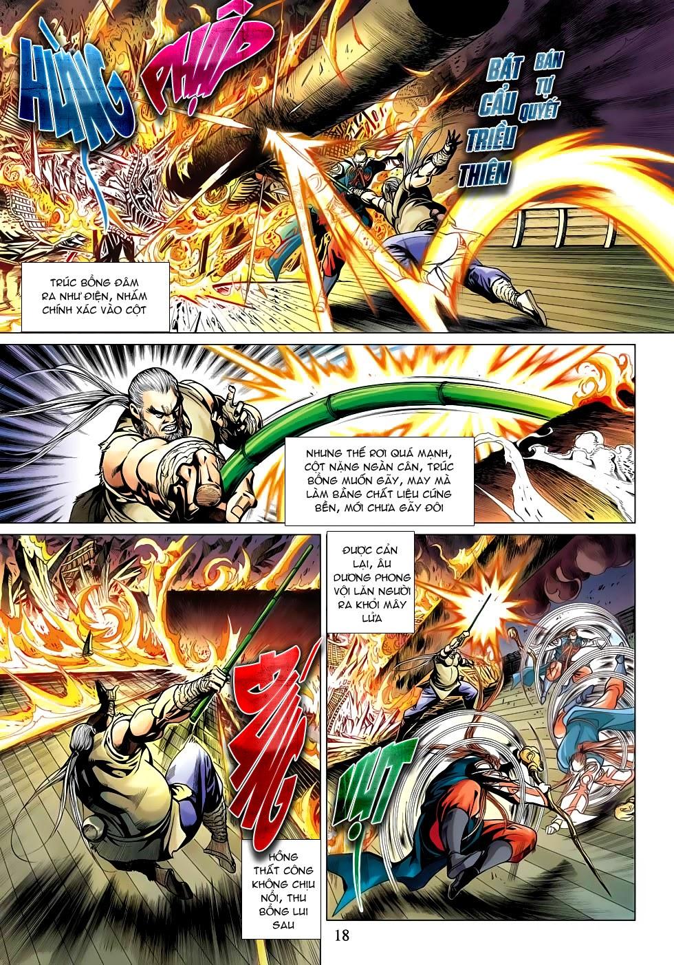 Anh Hùng Xạ Điêu anh hùng xạ đêu chap 53: lâm nguy thụ mệnh đả cẩu học pháp trang 19