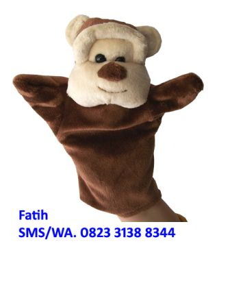 Boneka Tangan Murah Karakter Monyet