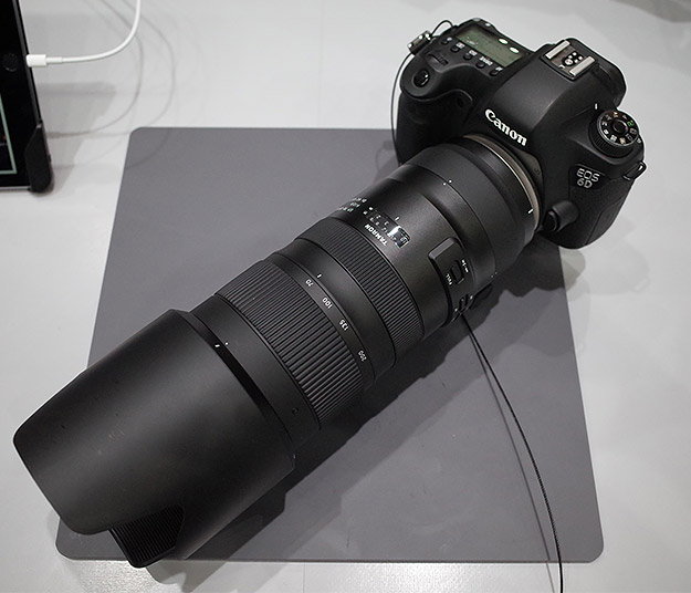Tamron SP 70-200mm f/2.8 Di VC USD G2, вид сверху