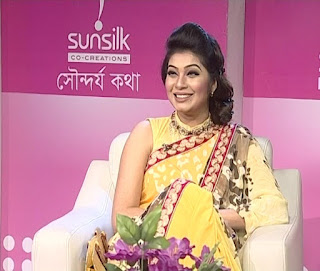 Alvi Bangladeshi Actress In Sunsilk Beauty Show