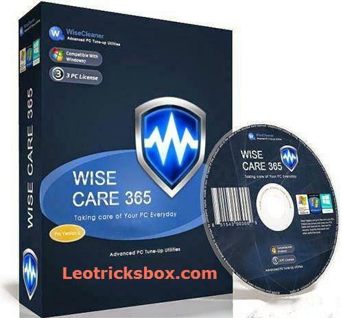 PC Software : Wise Care Pro 365 3.11 build 267 + KeyGen 1