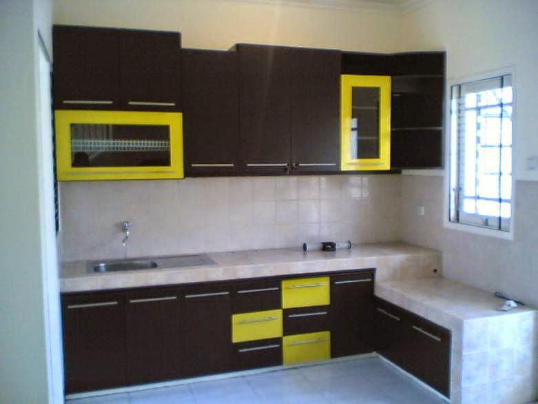 Kitchen set minimalis model KS-L02