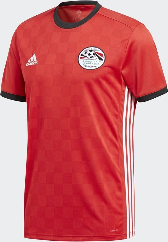 c82d0bc6c Adidas apresenta a camisa titular do Egito para a Copa do Mundo ...