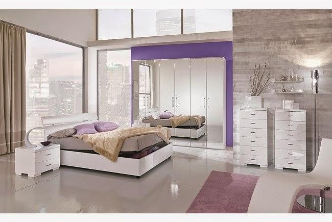 Dormitorios decorados con espejos dormitorios colores y for Espejos para habitaciones