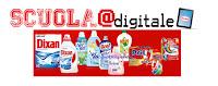 Logo Concorso Henkel e vinci buoni arredo Scuola e E.Reader digitali