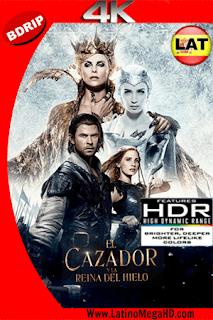 El Cazador y la Reina del Hielo: V. Extendida (2016) Latino Ultra HD BDRIP 4K 2160p - 2016
