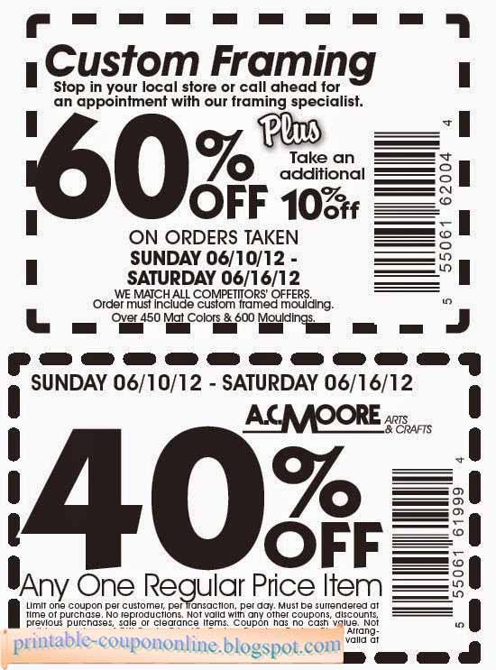 Ac moore coupons on phone