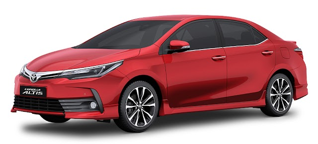 Toyota ALTIS Pricelist - As of January 2019 (Luzon - Philippines)