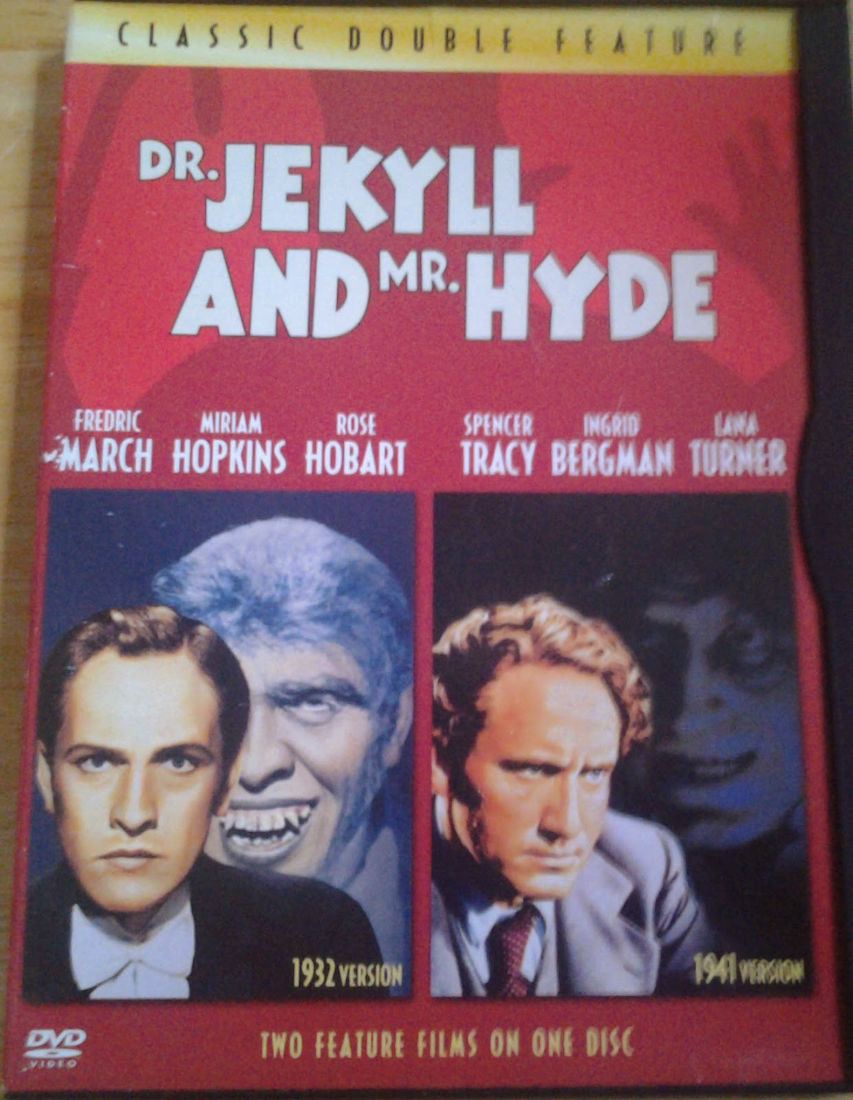 DVD Cover - Dr Jekyll and Mr. Hyde