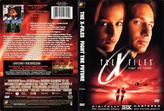 Carátula del DVD con la película de Expediente X de 1998