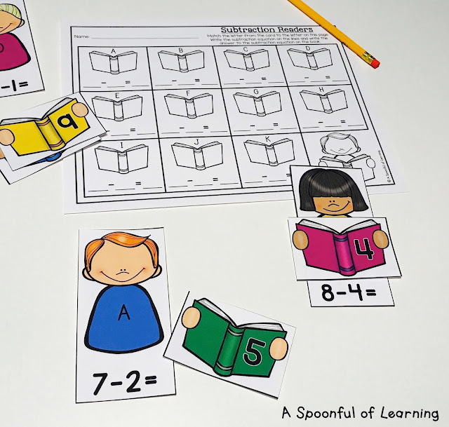 Back to School Centers - Math Center 7
