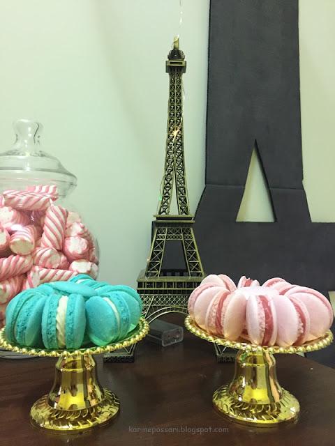 festa do pijama com o tema Paris
